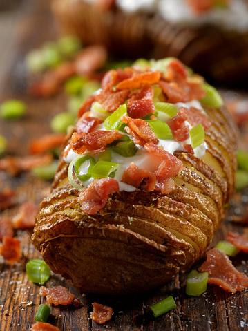 Baked Potato「Loaded Hasselback Potatoes」:スマホ壁紙(11)