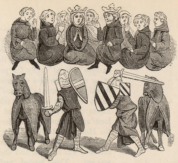 Circa 14th Century「Judicial Combat」:写真・画像(5)[壁紙.com]