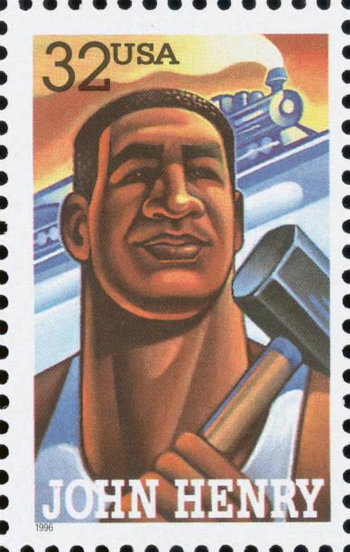 John Henry Postage Stamp:ニュース(壁紙.com)