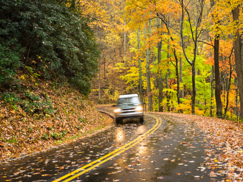Gatlinburg「Smoky Mountains Autumn Roads Series」:スマホ壁紙(8)