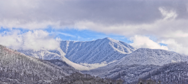 Gatlinburg「Smoky Mountains in Winter」:スマホ壁紙(9)