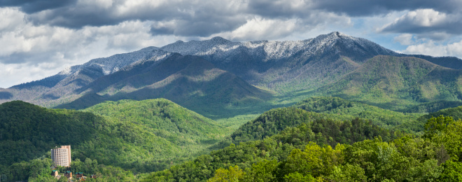Gatlinburg「Smoky Mountains Springtime Panorama」:スマホ壁紙(11)