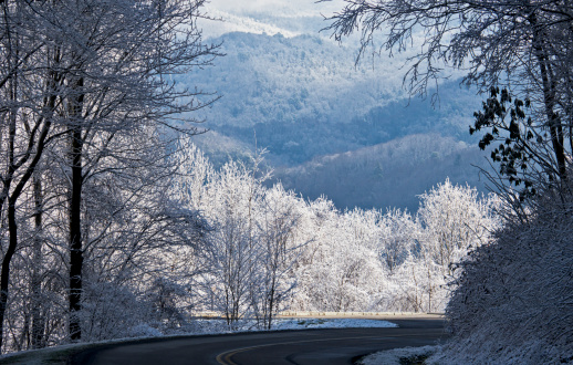 Gatlinburg「Smoky Mountains Winter Panoramic」:スマホ壁紙(10)