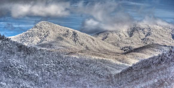 Gatlinburg「Smoky Mountains Winter Panoramic」:スマホ壁紙(10)