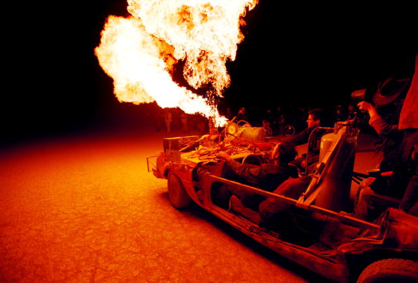Nevada「Burning Man Festival in Nevada Desert」:写真・画像(1)[壁紙.com]