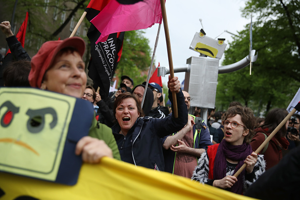 Employment And Labor「Amazon Workers Protest Against Jeff Bezos」:写真・画像(1)[壁紙.com]