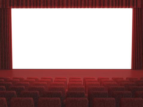 Auditorium「Blank Cinema Screen」:スマホ壁紙(9)
