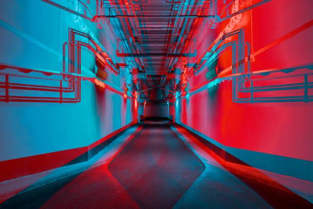 Vibrant tunnel:スマホ壁紙(壁紙.com)
