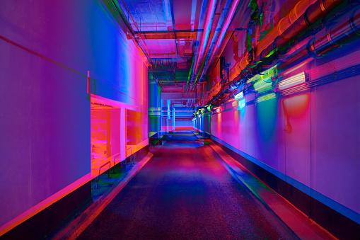 Multiple Exposure「Vibrant tunnel」:スマホ壁紙(5)