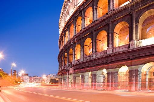 Roman「Colosseum, Rome, Lazio, Italy」:スマホ壁紙(2)