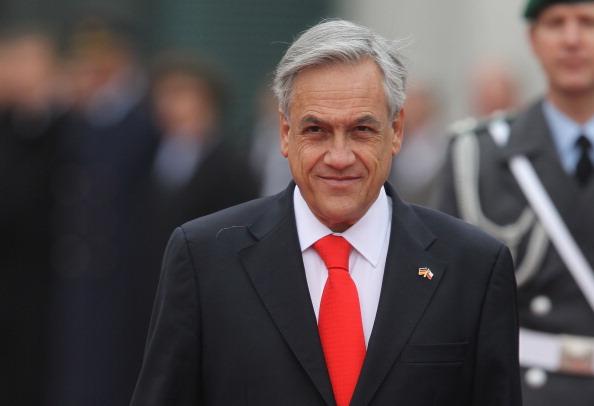 Sebastián Piñera「Merkel Meets With Chilean President Pinera」:写真・画像(0)[壁紙.com]