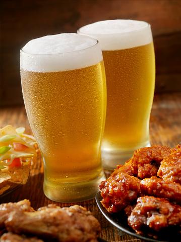 Chicken Wing「Beer and Wings」:スマホ壁紙(16)