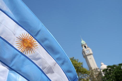 Argentinian Flag「City Hall, Buenos Aires, Argentina」:スマホ壁紙(18)