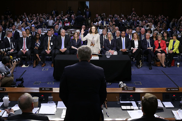 Central Intelligence Agency「CIA Director Nominee Gina Haspel Testifies At Senate Confirmation Hearing」:写真・画像(19)[壁紙.com]