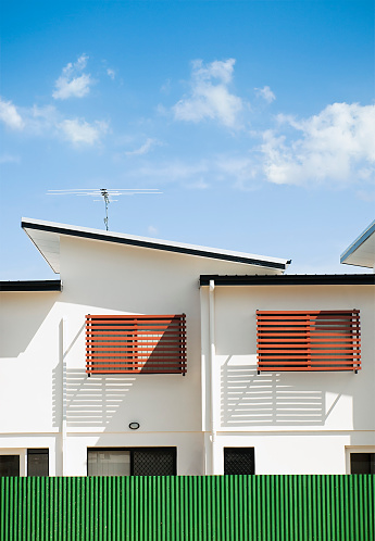 Motel「Modern Motel Building Abstract」:スマホ壁紙(7)