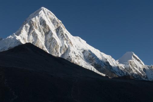 Kala Pattar「White and black peaks, Himalayas」:スマホ壁紙(7)