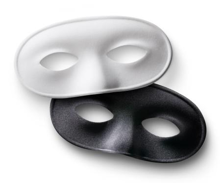 カーニバル「白と黒のマスク」:スマホ壁紙(16)