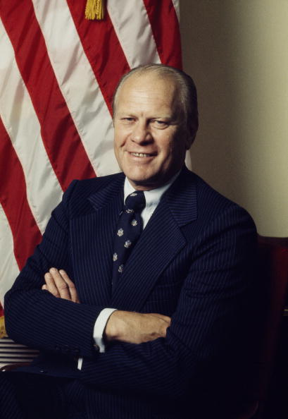 Gerald Ford「A official portrait of Gerald R. Ford」:写真・画像(7)[壁紙.com]