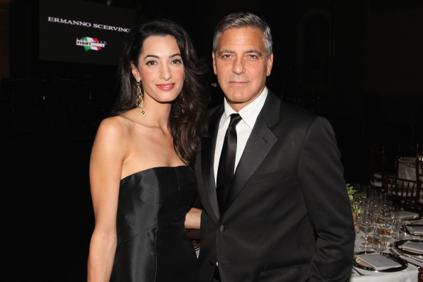Amal Clooney「Celebrity Fight Night In Italy Benefitting The Andrea Bocelli Foundation And The Muhammad Ali Parkinson Center」:写真・画像(19)[壁紙.com]
