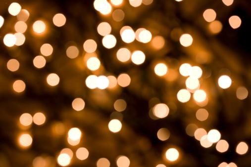 Holiday - Event「Defocused Gold Lights」:スマホ壁紙(7)