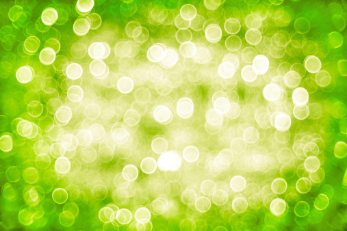 Green Background「Defocused green lights」:スマホ壁紙(1)