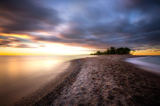 Great Lakes「Point Pelee National Park - Long Exposure」:スマホ壁紙(17)