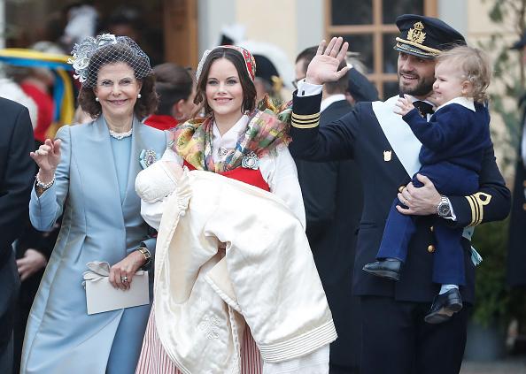 Swedish Royalty「Christening of Prince Gabriel Of Sweden」:写真・画像(18)[壁紙.com]