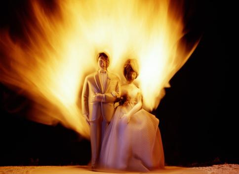 Yellow Dress「Burning Bride and Groom」:スマホ壁紙(10)