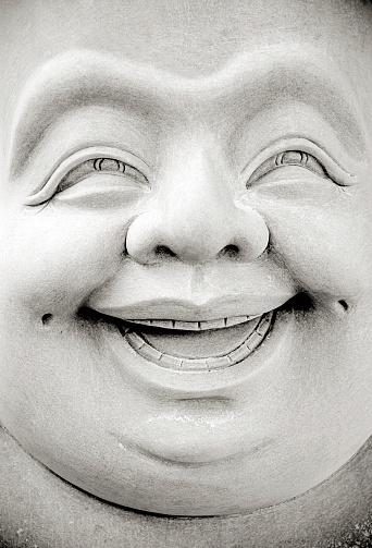 Buddha statue「Smiling Buddha」:スマホ壁紙(3)