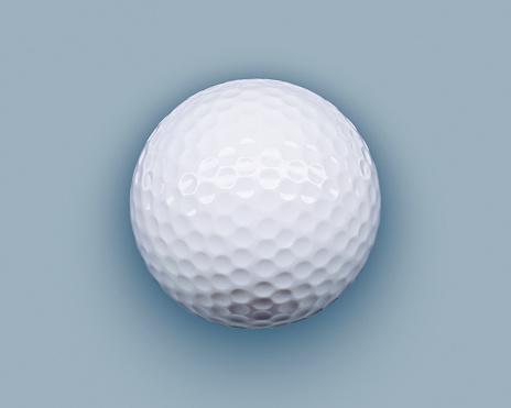 Gray Background「Golf ball」:スマホ壁紙(9)