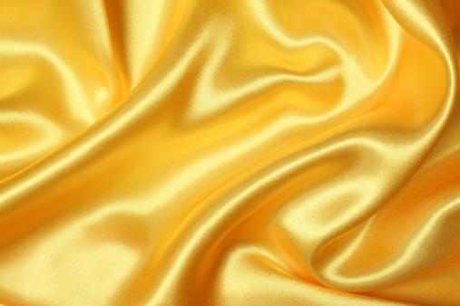 Silk「Yellow Silk Texture」:スマホ壁紙(1)