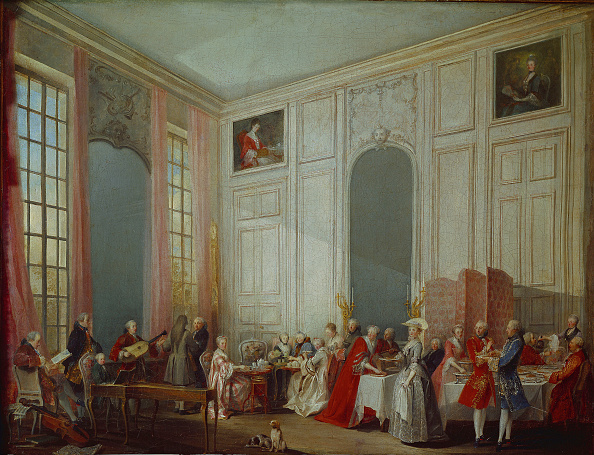 Coffee Break「Mozart Giving A Concert In The Salon Des Quatre-Glaces At The Palais Du Temple In The Court Of The P」:写真・画像(17)[壁紙.com]