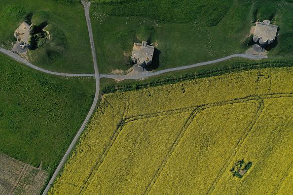 Oilseed Rape「Aerial Views Of D-Day Normandy Landmarks」:写真・画像(11)[壁紙.com]