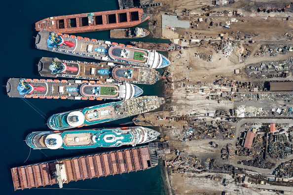 Turkey - Middle East「Cruise Ships Sold For Scrap Due To Coronavirus Pandemic」:写真・画像(4)[壁紙.com]