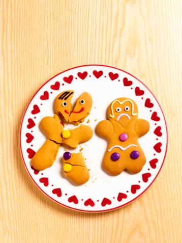 Gingerbread Cookie「Gingerbread-man and woman.」:スマホ壁紙(15)