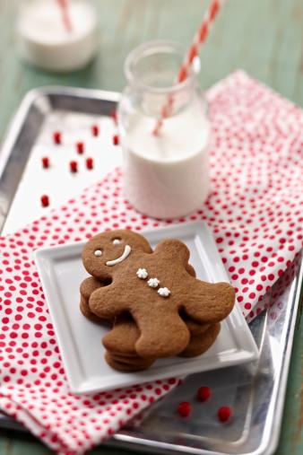 Gingerbread Cookie「Gingerbread men cookies」:スマホ壁紙(6)