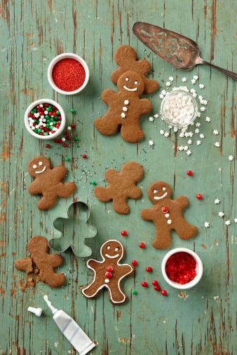 Gingerbread Cookie「Gingerbread Men Cookies」:スマホ壁紙(2)