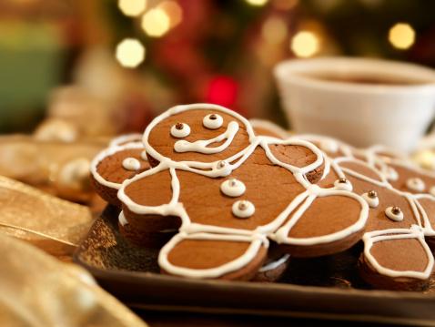 Gingerbread Cookie「Gingerbread Men Cookies」:スマホ壁紙(4)