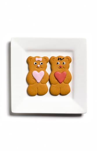 Gingerbread Woman「Gingerbread couple」:スマホ壁紙(17)