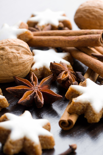 Star Anise「gingerbread cookies,nuts and spices」:スマホ壁紙(6)