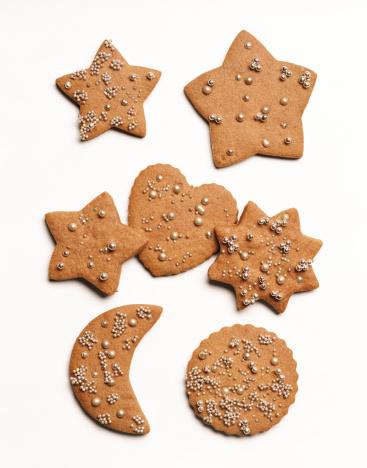Gingerbread Cookie「Gingerbread Christmas cookies」:スマホ壁紙(1)