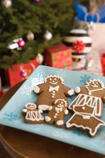 Gingerbread Woman「Gingerbread family」:スマホ壁紙(12)