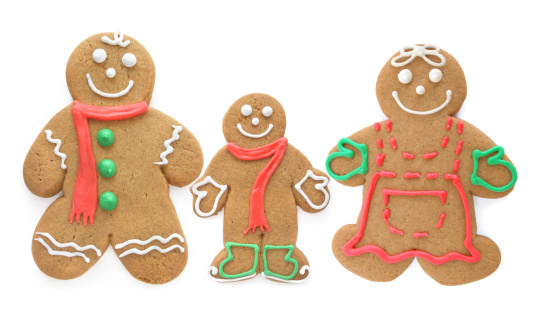 Gingerbread Cookie「Gingerbread Family」:スマホ壁紙(10)