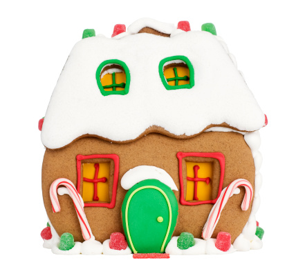 Candy Cane「Gingerbread House」:スマホ壁紙(1)