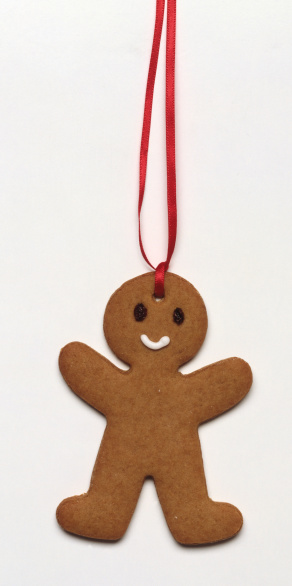 Gingerbread Cookie「Gingerbread man ornament」:スマホ壁紙(6)