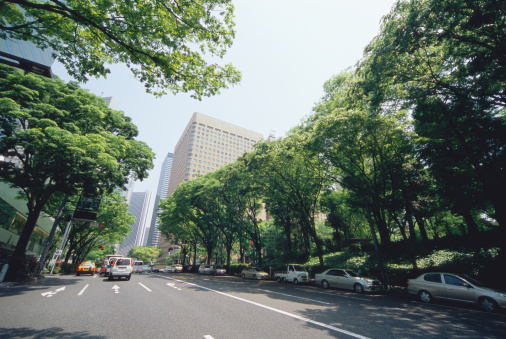 Financial District「Shinjuku, Tokyo, Japan」:スマホ壁紙(5)