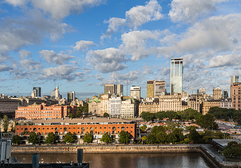 Casa Rosada「View of Puerto Madero and the Centro District of Buenos Aires」:スマホ壁紙(13)