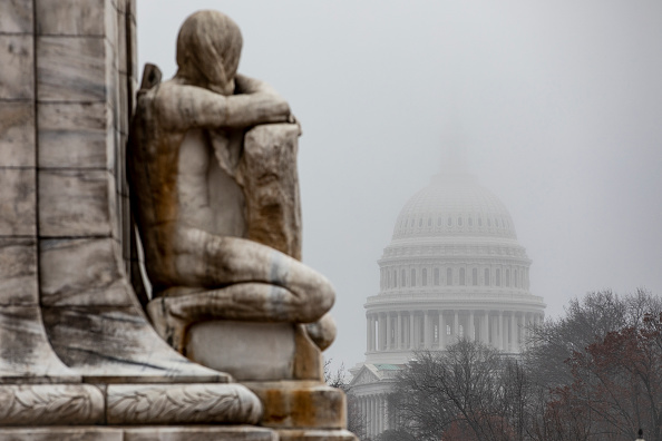 No People「Capitol Hill Prepares Ahead Of Full House Vote On Impeachment Articles This Week」:写真・画像(9)[壁紙.com]