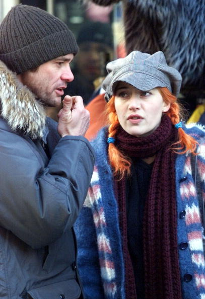 "Sunlight「Jim Carrey And Kate Winslet  On The Set Of ""Eternal Sunshine Of The Spotless Mind"" 」:写真・画像(12)[壁紙.com]"