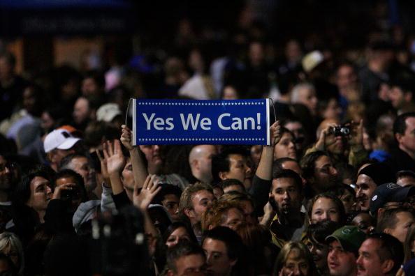 Success「Barack Obama Holds Election Night Gathering In Chicago's Grant Park」:写真・画像(5)[壁紙.com]